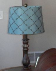 See? My own lamp!