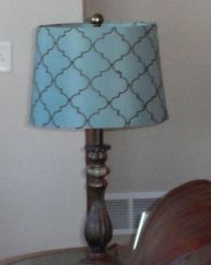 After hours of pondering tweet options, this is all I got: I have a blue lamp.