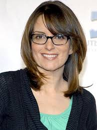 Tina Fey. My new BFF. So much in common: we both wear glasses and enjoy Saturday nights.