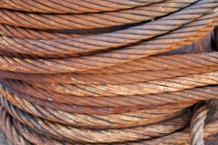 A free image for anyone writing about steel cables!