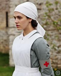 Downton Abbey's Lady Sybil Crawley, the nurse I needed.