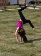 Now that's summer. Nice cartwheel, kiddo.