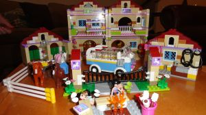 Writer's block: when you'd rather make Lego houses than write.